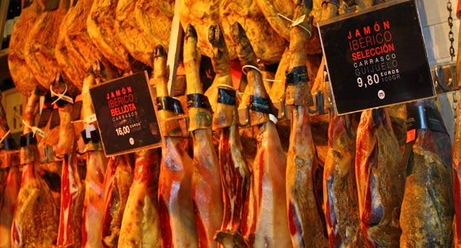 jamon iberico Madrid
